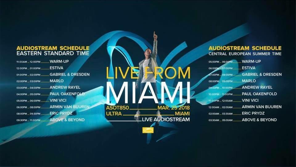 Vini Vici Live @ ASOT Stage, UMF Miami