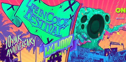Marshmello Live @ Life in Color Festival Miami 2017