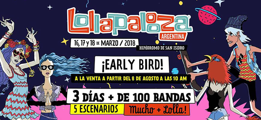 Live @ Lollapalooza Argentina 2018 (Day 2)