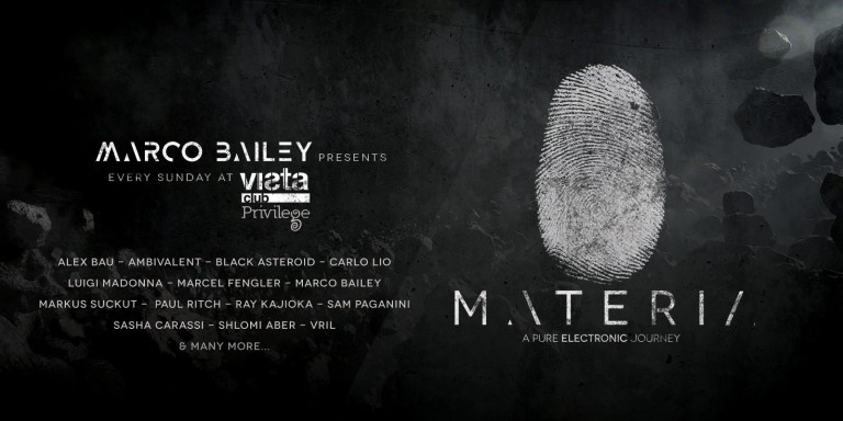 Marco Bailey - Materia Music Radio Show 083 - 03 September 2020