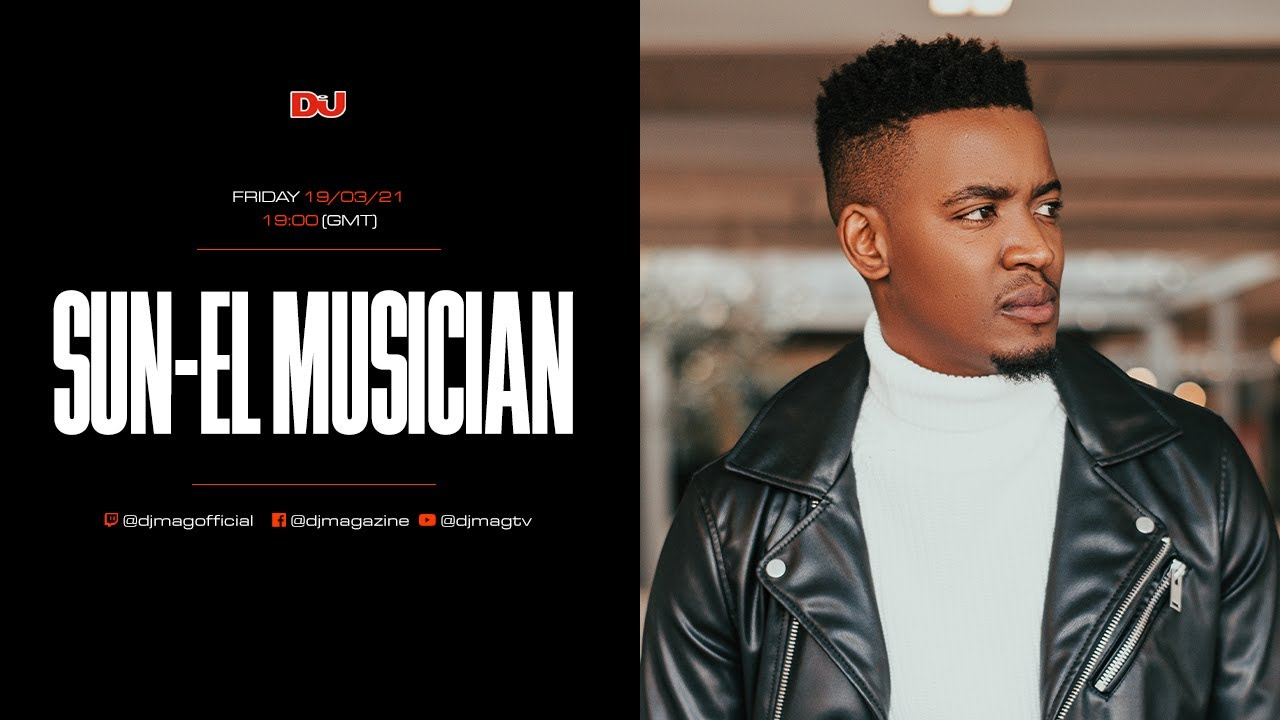 Sun-El Musician - DJ Mag, South Africa - 19 March 2021