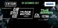 DJ Anna Lee - Live @ Sentrum, Club Styles Fest. - Trance Edition, Vol. 2 (Kiev, Ukraine) - 09 December 2017