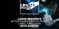 Lange - Create Takeover on AH.FM - 30 August 2017
