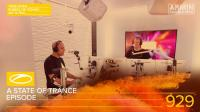 Armin van Buuren - A State of Trance ASOT 929 (Takeover by Ruben De Ronde, Aly & Fila) - 29 August 2019